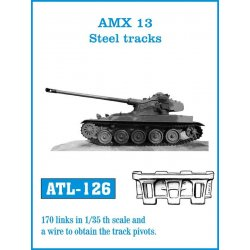 AMX 13 Steel tracks 1/35...
