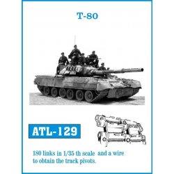 T-80 1/35 metal tracks