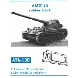 AMX 13 rubber track 1/35...