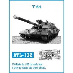 T-64 1/35 metal tracks