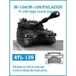 M-108/M109 /PALADIN T-136...
