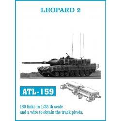 LEOPARD 2 1/35 metal tracks