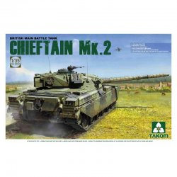 British Main Battle Tank Chieftain Mk.2, 1/35