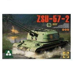 Soviet SPAAG ZSU-57-2 2 in...