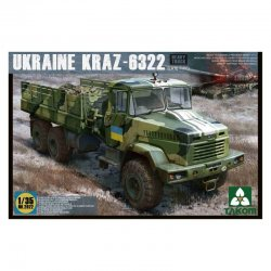 Ukraine Kraz-6322 late...
