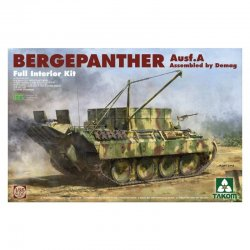 Bergepanther Ausf.A - DEMAG - full Interior, 1/35