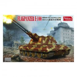 8,8cm Flakpanzer E-100, 1/35