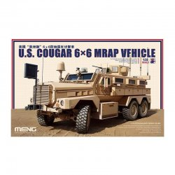 U.S. COUGAR 6×6 MRAP VEHICLE, 1/35