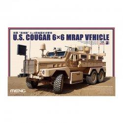U.S. COUGAR 6×6 MRAP VEHICLE, 1/35