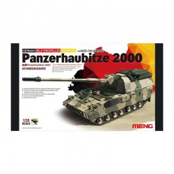 German Panzerhaubitze 2000 Self-Propelled Howitzer W/add-on Armor, 1/35