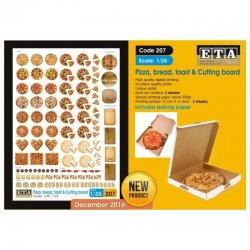Pizza, bread, toast &...