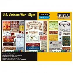 U.S. Vietnam - Signs