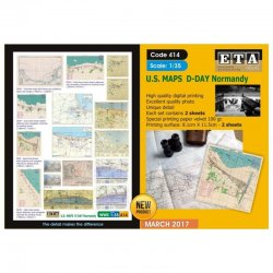 U.S. MAPS - D-DAY Normandy