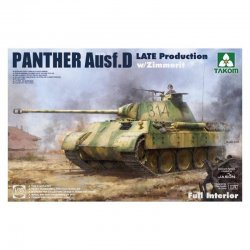 Panther D late mit Zimmerit...