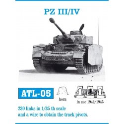 PZ III/IV 1/35 metal tracks