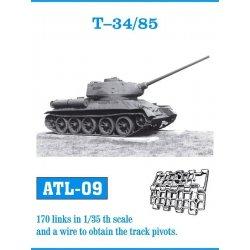 T-34/85 1/35 metal tracks