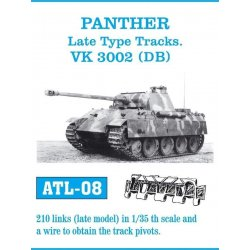 PANTHER Late Type Tracks / VK 3200 (DB) 1/35 metal tracks