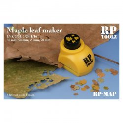 Maple leaf maker in 4 sizes