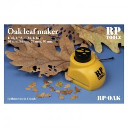 Oak leaf maker in 4 sizes