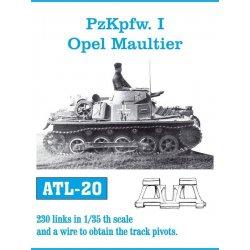 PzKpfw. I / Opel Maultier 1/35 metal tracks