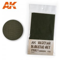 REGULAR MIMETIC NET GREEN T1