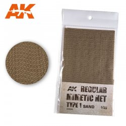 REGULAR MIMETIC NET SAND T1