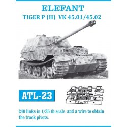 ELEFANT / TIGER P (H) VK 45.01 / 45.02 1/35 metal tracks