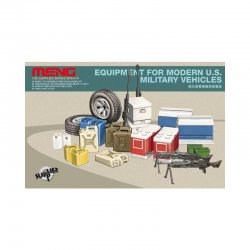 Equipment for modern U.S. Military vehicles 1/35