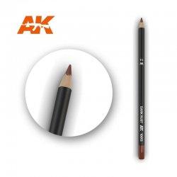 Dark Rust Watercolor Pencil...