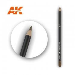 Earth Brown Watercolor Pencil 1pc