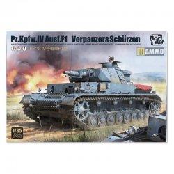 Pz.Kpfw.IV Ausf.F1 (F1 .VORPANZER. SCHURZEN) 3 in 1, 1/35