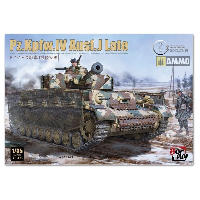 1/35 Pz.Kpfw.IV Ausf. J Late 2 in 1, 1/35