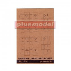 German Cardboard Boxes, 1/35
