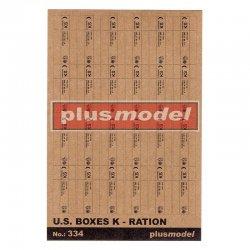 U.S. boxes Ration K , 1/35