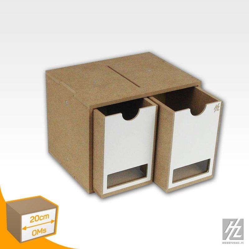 Drawers Module x 2 (Tall - Small)