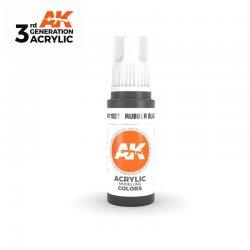 Rubber Black 17ml - 3rd Gen Acrylic AK Interactive AK11027