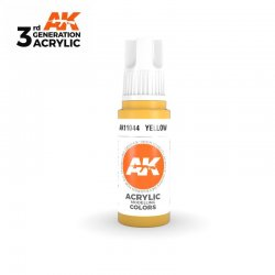 Yellow 17ml - 3rd Gen Acrylic AK Interactive AK11044