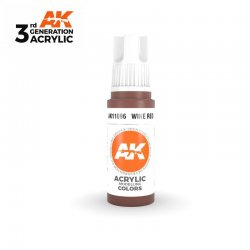 Wine Red 17ml - 3rd Gen Acrylic AK Interactive AK11096