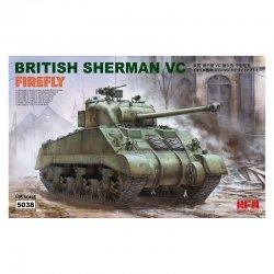 British Sherman VC Firefly,...