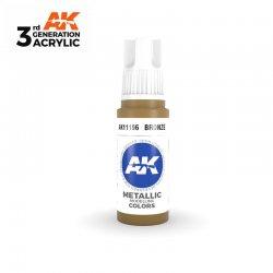 Bronze 17ml - 3rd Gen Acrylic AK Interactive AK11196