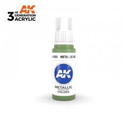 Metallic Green 17ml - 3rd Gen Acrylic AK Interactive AK11205
