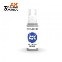 Aluminium 17ml - 3rd Gen Acrylic AK Interactive AK11207