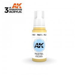 Pastel Yellow 17ml - 3rd Gen Acrylic AK Interactive AK11037