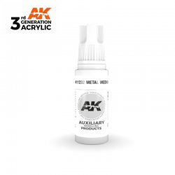 Metal Medium 17ml - 3rd Gen...
