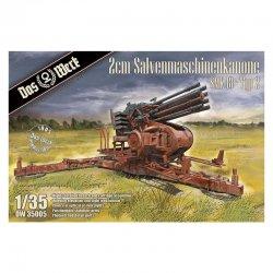 2cm Salvenmaschinenkanone - SMK Typ 2, 1/35 | Das Werk DW35005
