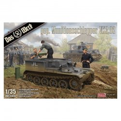 Armored ammunition tractor VK3.02, 1/35