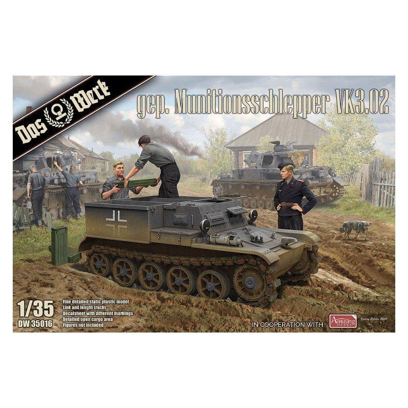 Armored ammunition tractor VK3.02, 1/35 | Das Werk DW35016
