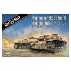 StuG III Ausf.G / StuH 42 2in1 mit Zimmerit, 1/35