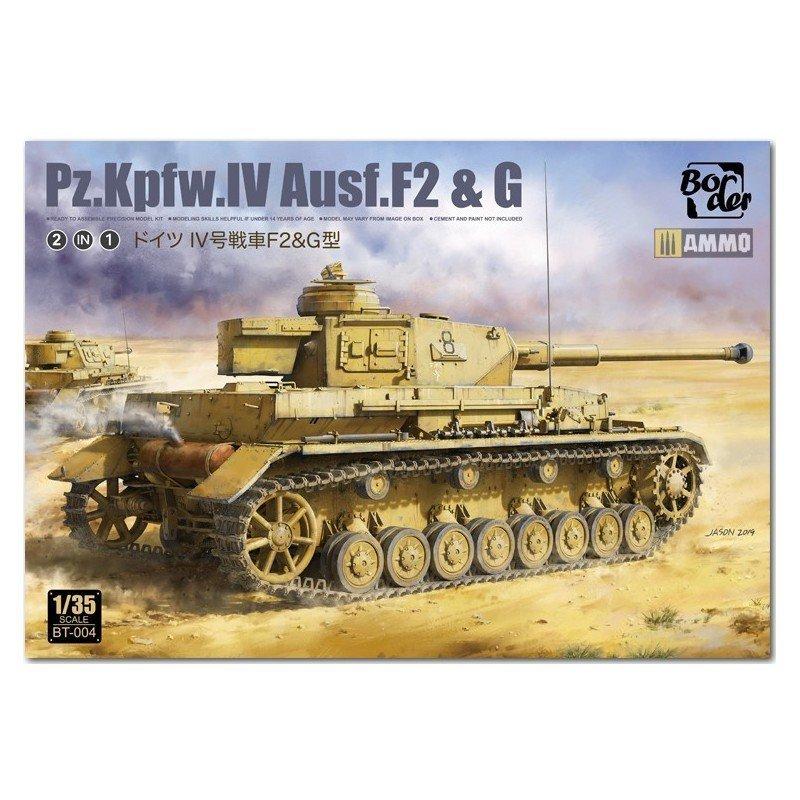 Panzer IV Ausf. F2 & G, 1/35 | Border Model BT-004