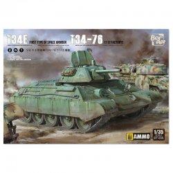 T-34E (mit Zusatzpanzerung) / T-34-76 2 in 1, 1/35